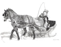 Happiness is a Sleigh Ride